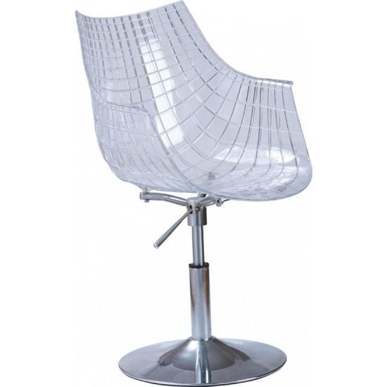 Кресло офисное Кристаль, пластиковые кресла Кристаль для дома офиса кафе бара Киев