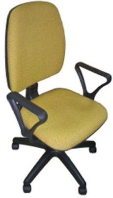 Кресло офисное Янг Украина Лотус. Материал - кожзам.