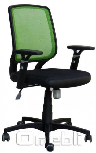 Кресло Онлайн Сетка лайм/ Сетка черная A38311