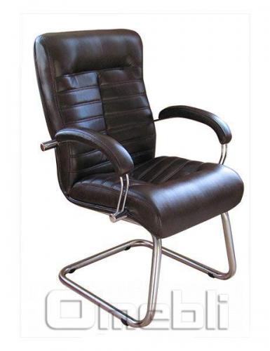 Кресло Орион CF хром Неаполь Черный N 20 A4172