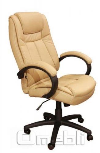 Кресло Орлеан HB Кожзам бежевый A7327