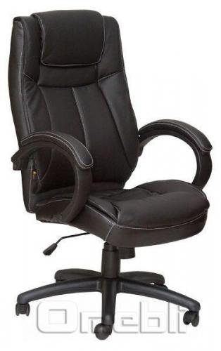 Кресло Орлеан HB Кожзам черный A7325