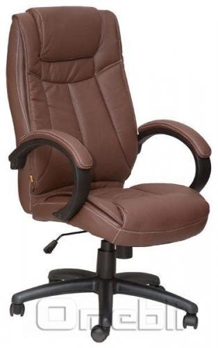 Кресло Орлеан HB Кожзам коричневый A7326