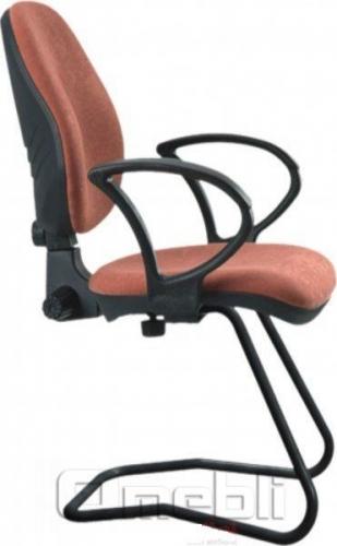 Кресло Поло CF конференц, АМФ-4 ткань Розана Р-108 A36550