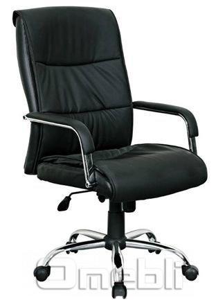 Кресло Рио HB Кожзам черный A7328
