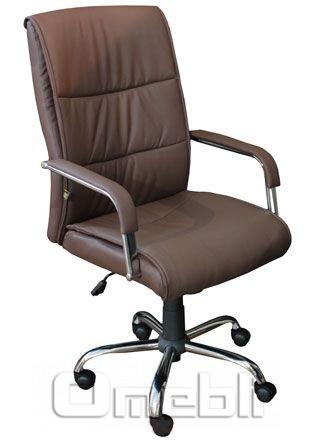 Кресло Рио HB Кожзам коричневый A7329