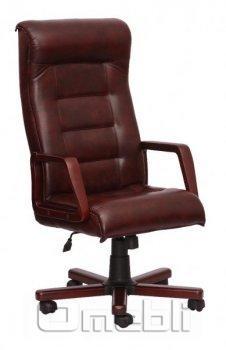 Кресло Роял EXTRA Неаполь N 77 пятнистый подлокотники орех A5739