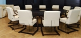 Кресло Роял WOOD Неаполь Черный N 20 подлокотники орех A5955