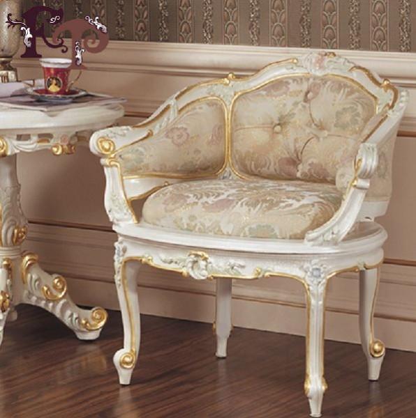Кресло с подлокотиками Курион в стиле барокко