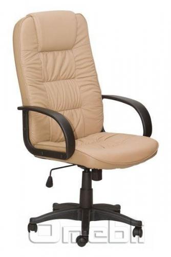 Кресло Спарк HB Кожзам бежевый A7351