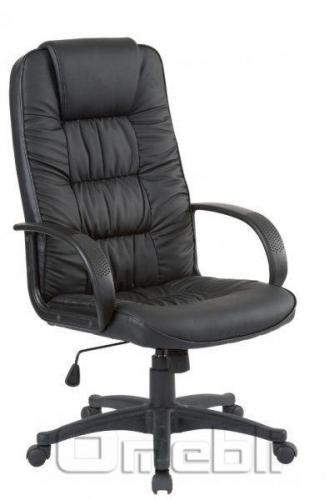 Кресло Спарк HB Кожзам черный A7349