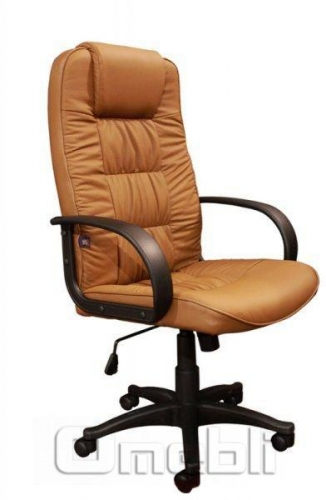Кресло Спарк HB Кожзам коричневый A7350