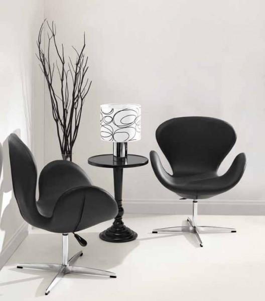 Кресло СВ, цвет черный