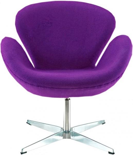 Кресло СВ, ткань фиолетовая