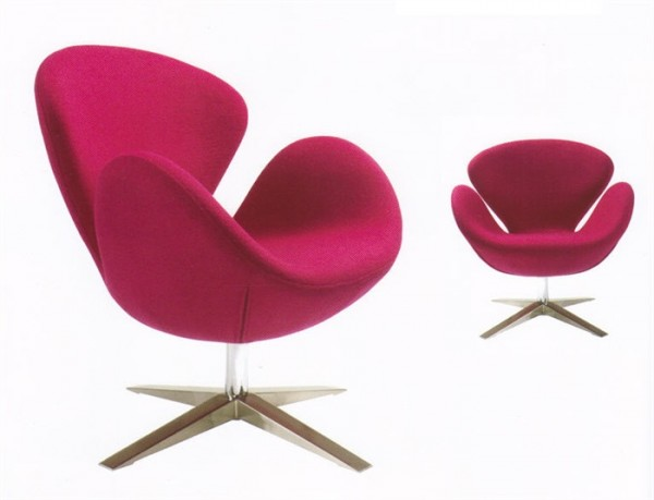 Кресло СВ, ткань розовая