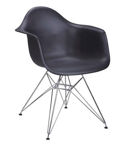 Кресло ТАуэр черного цвета