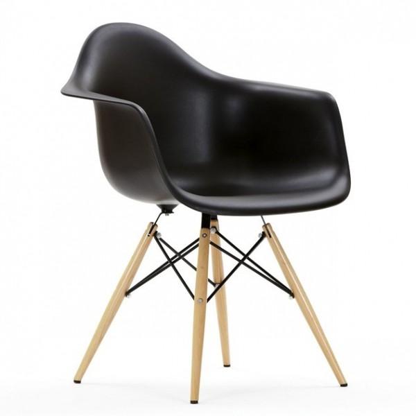 Кресло ТАуэр вуд черного цвета