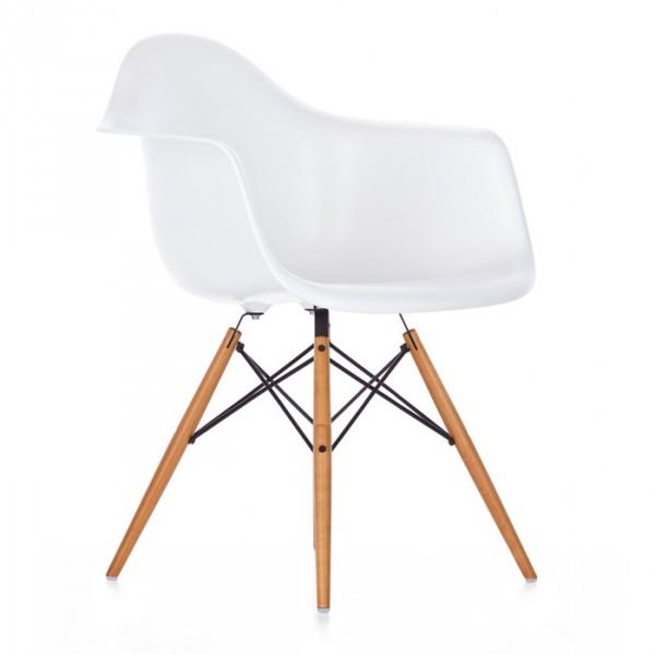 Кресло Тауэр Вуд, цвет белый