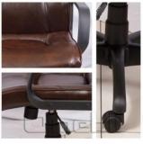 Кресло Торонто PL Мадрас ДК Браун A6423