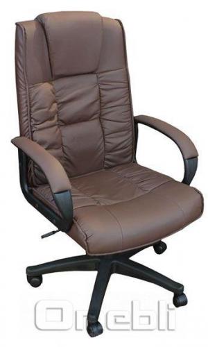 Кресло Тулуза HB Кожзам коричневый A7332