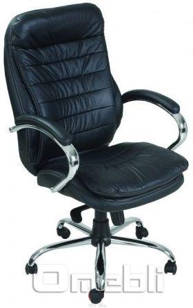 Кресло Валенсия HB Кожзам черный A7246