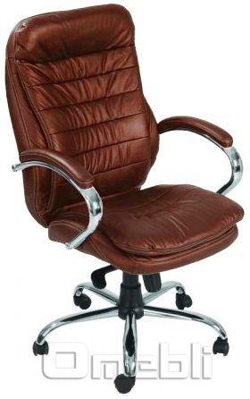 Кресло Валенсия HB Кожзам коричневый A7247
