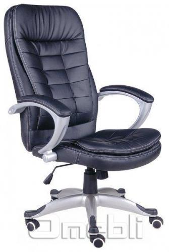 Кресло Вариус HB Кожзам черный A7346