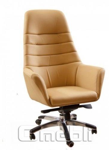 Кресло Вега HB Кожзам бежевый A7259