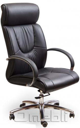 Кресло Юпитер HB Кожзам черный A7265