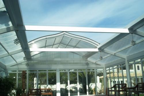 Крыши бассейнов, купола, мобильные крыши. Изготовление, установка.