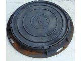 Фото  1 Крышка чугунная люка канализационного среднего С В125 (А) 1941969