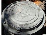 Фото  1 Крышка чугунная люка канализационного типа ПЛ (ИН) 1941966