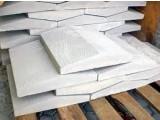 крышки 2-хскатные бетонные на забор