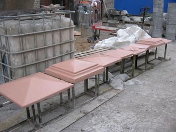 Крышки из бетона на забор купить купить эпоксидную краску по бетону