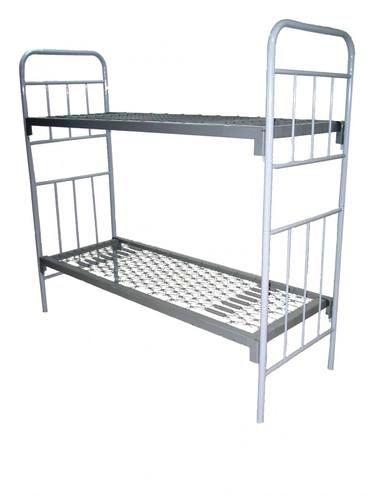 Кровать армейская двухъярусная разборная ГОСТ 2056-77, сетка ромбическая