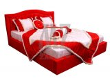 """Кровать двухспальная """"Даниэль"""" - Категория ткани 8"""