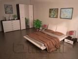 Кровать двуспальная ТО-420   венге A10449