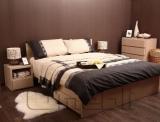 Кровать двуспальная UK-300   дуб молочный A10397