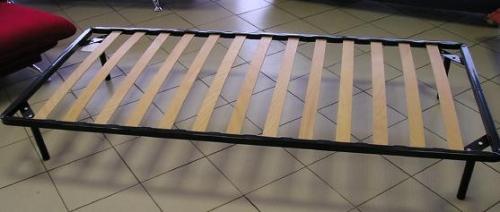 Кровать ламелевая офицерская 1-ярусная