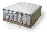 Кровать Matroluxe №5 с каркасным матрасом, 90х200 прям спин A32986