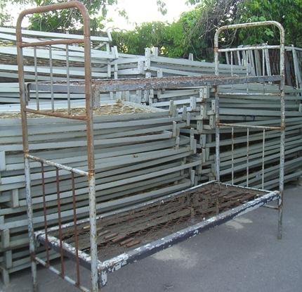 Кровать металлическая с армейская 1-2-ярусная новая и б/у