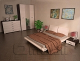 Кровать односпальная ТО- 410   венге A10456