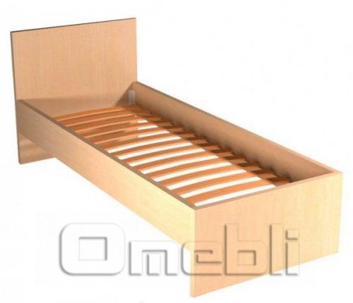 Кровать односпальная UK-310   дуб молочный A10400
