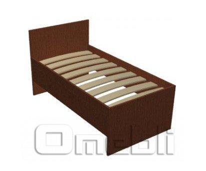 Кровать односпальная UK-310   венге A10399