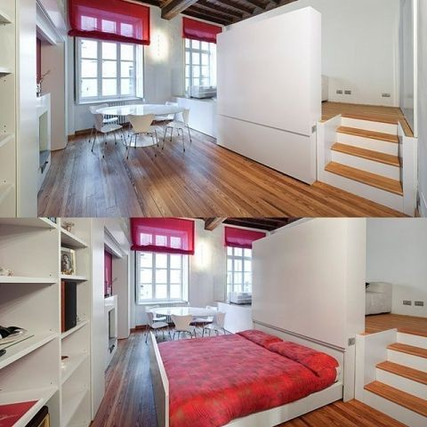Кровать, подиум 2
