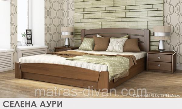 Кровать Селена-Аури с подъемным механизмом тм Эстелла