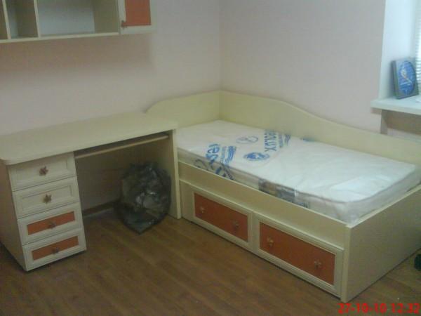 Кровать в детскую1