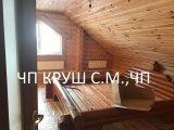 Фото 2 кровать деревянная из оцилиндрованного бруса 338458