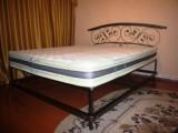 Изготовление под заказ кованых кроватей в Харькове, возможность изготовления по индивидуальному эскизу домашней мебели.