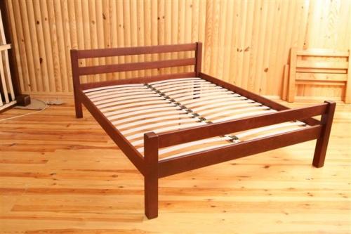 Кровати из натурального дерева массив ольха и ясень качества высокого.